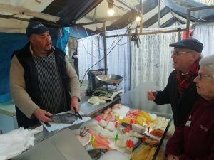 Fish Market stall at Stourport